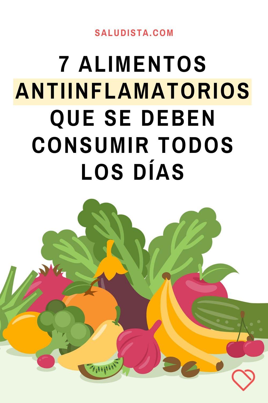 7 Alimentos antiinflamatorios que se deben consumir todos los días para la salud y la felicidad a largo plazo