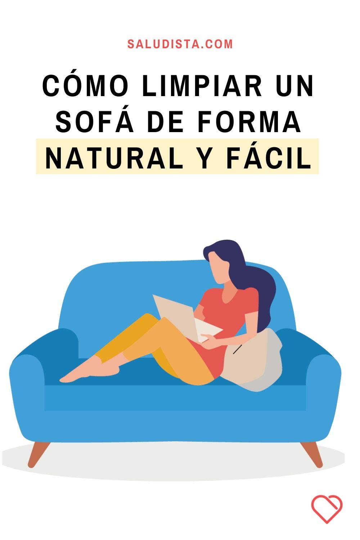 Cómo limpiar un sofá de forma natural y fácil