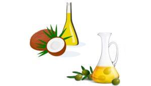 Aceite de oliva o de coco: ¿Cuál es un alimento básico de cocina?
