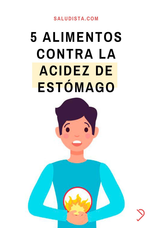 5 alimentos contra la acidez de estómago