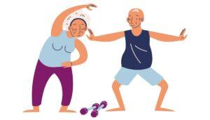 Guía de ejercicios para personas mayores para mantenerse activos de forma segura