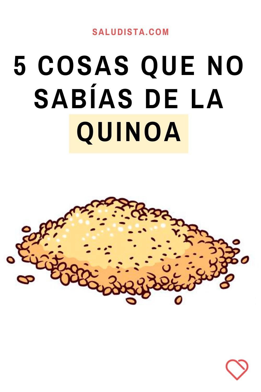 5 cosas que no sabías de la quinoa