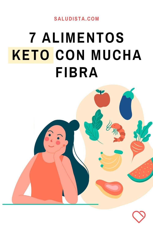 7 Alimentos Keto con mucha fibra