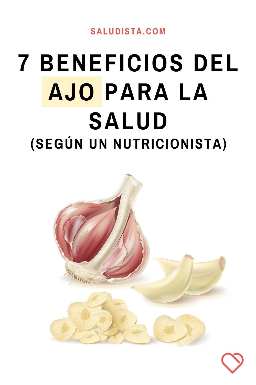 7 Beneficios del ajo para la salud, según un nutricionista