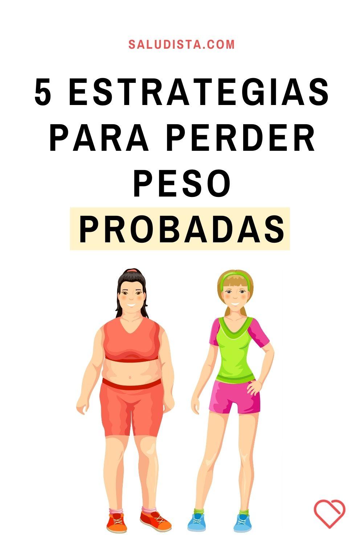 5 estrategias para perder peso probadas