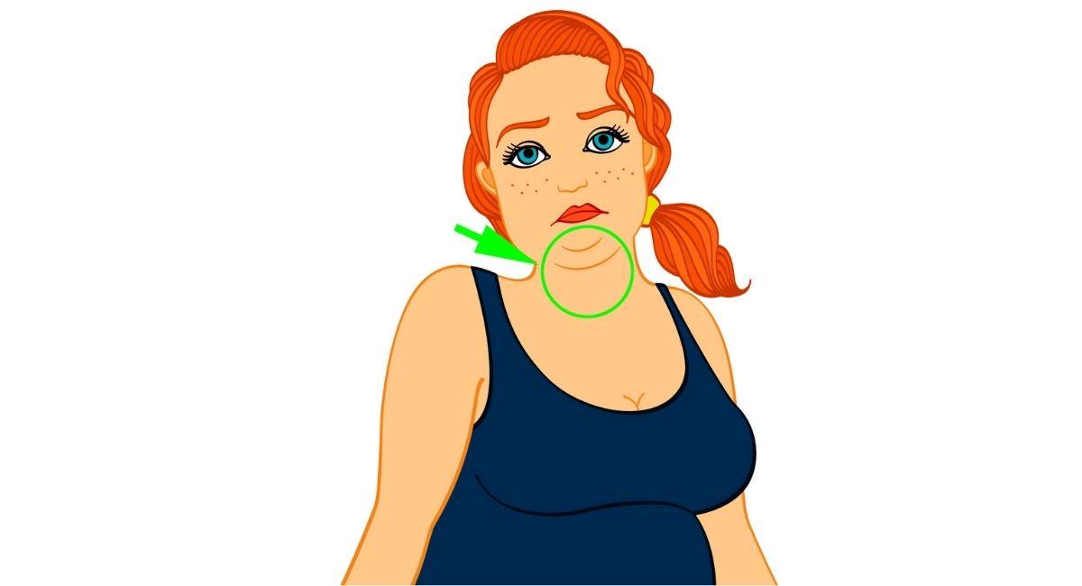 Cómo eliminar la grasa de la papada