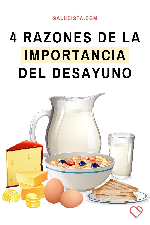4 razones de la importancia del desayuno
