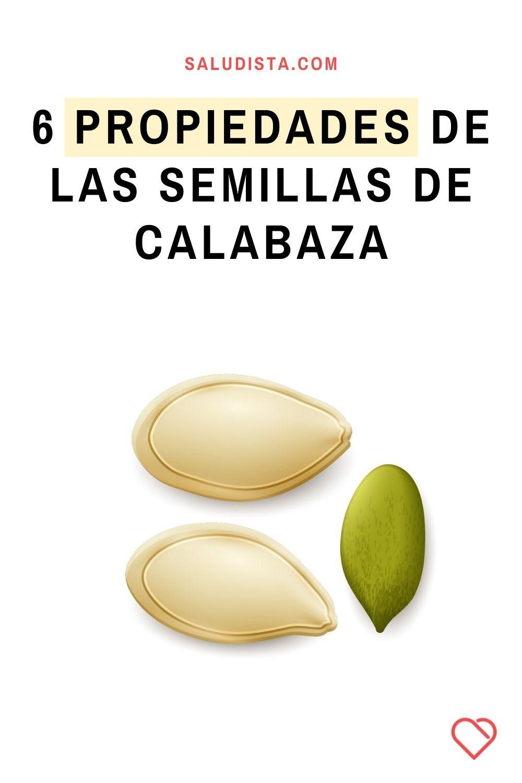 6 Propiedades de las semillas de calabaza