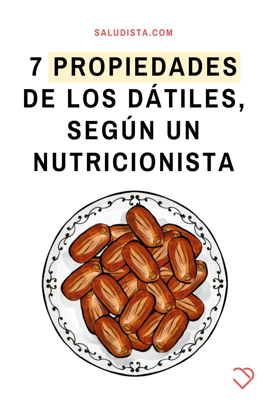 7 propiedades de los dátiles, según un nutricionista