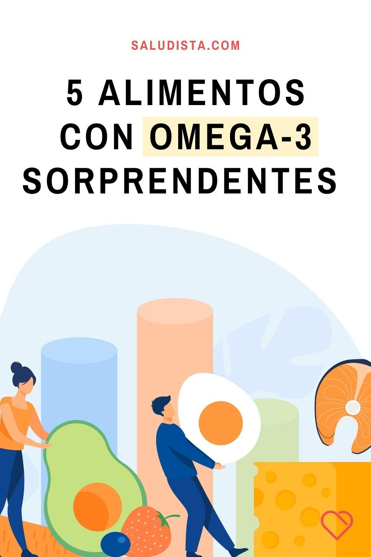 5 alimentos con Omega-3 sorprendentes