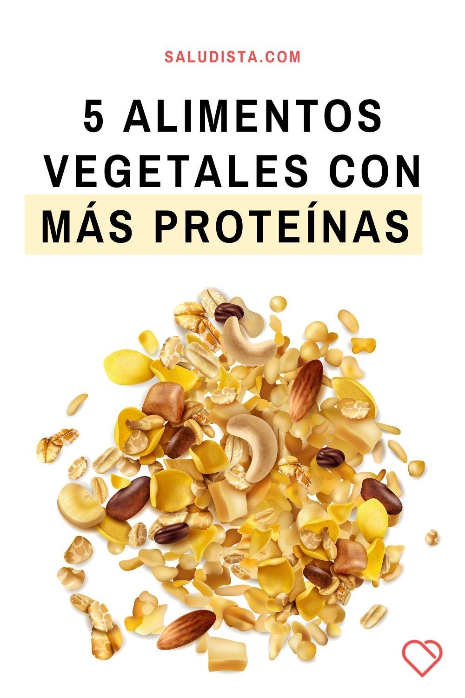 5 alimentos vegetales con más proteínas