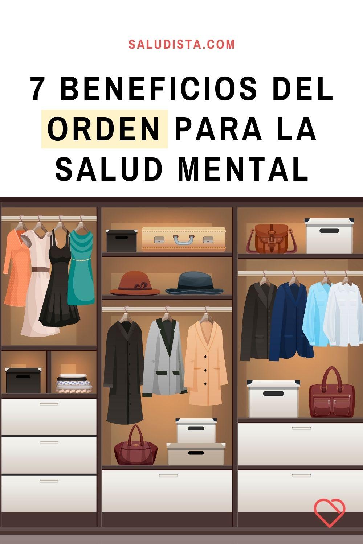 7 beneficios del orden para la salud mental