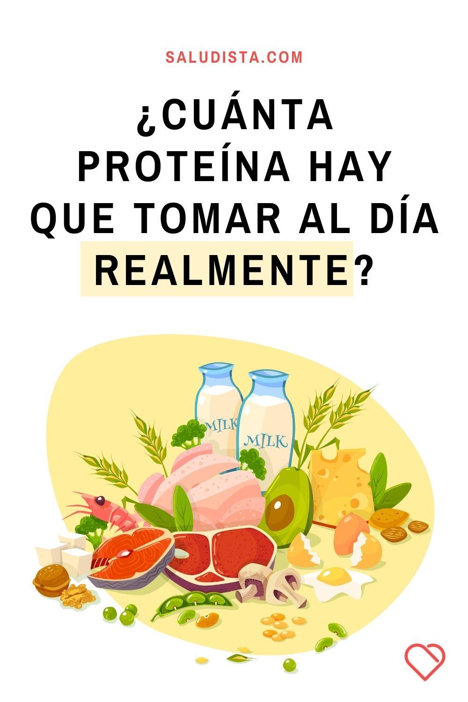 ¿Cuánta proteína hay que tomar al día realmente?