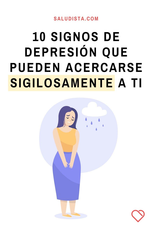 10 signos de depresión que pueden acercarse sigilosamente a ti