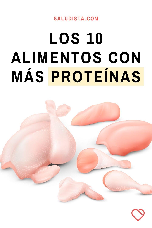 Los 10 alimentos con más proteínas