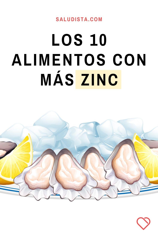 Los 10 alimentos con más zinc