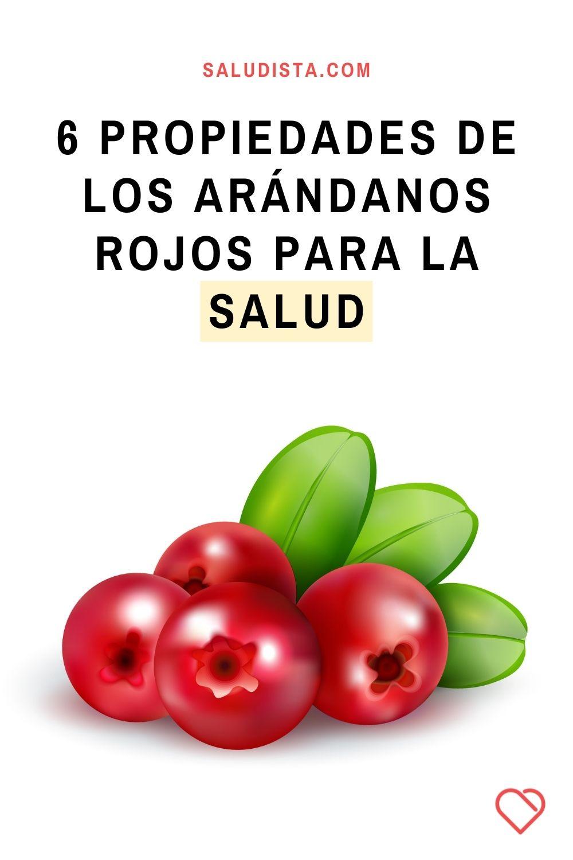 6 Propiedades de los arándanos rojos para la salud