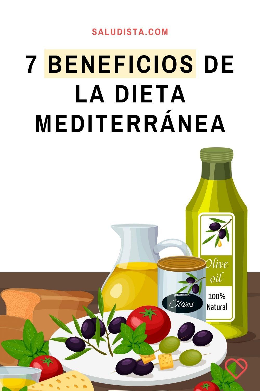 7 Beneficios de la dieta mediterránea