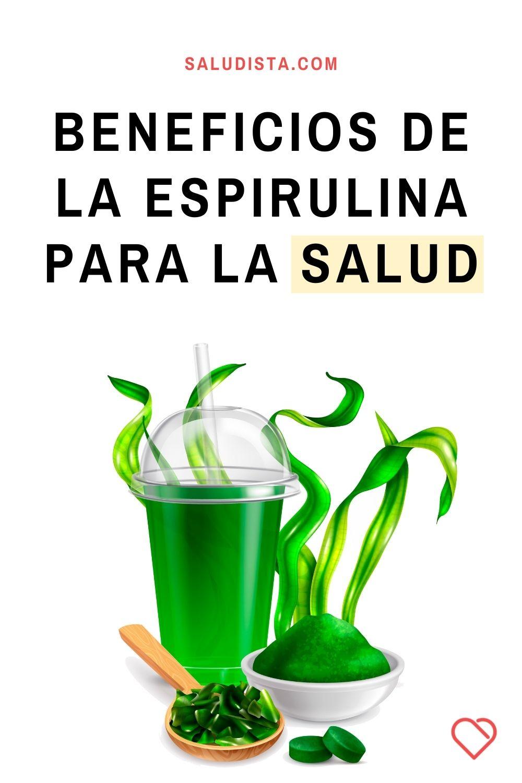 Beneficios de la espirulina para la salud