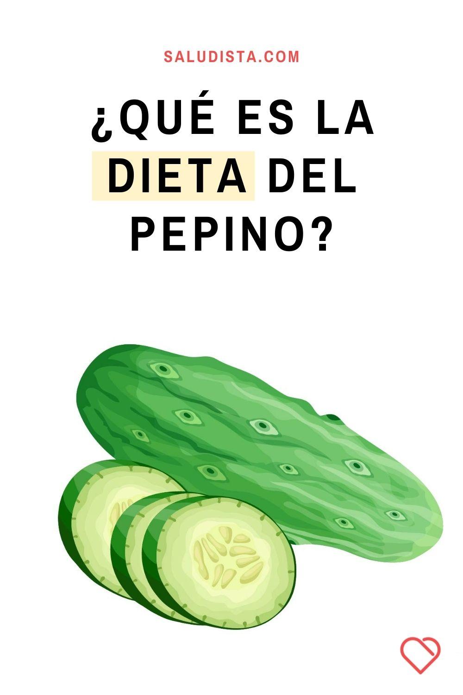 ¿Qué es la dieta del pepino?