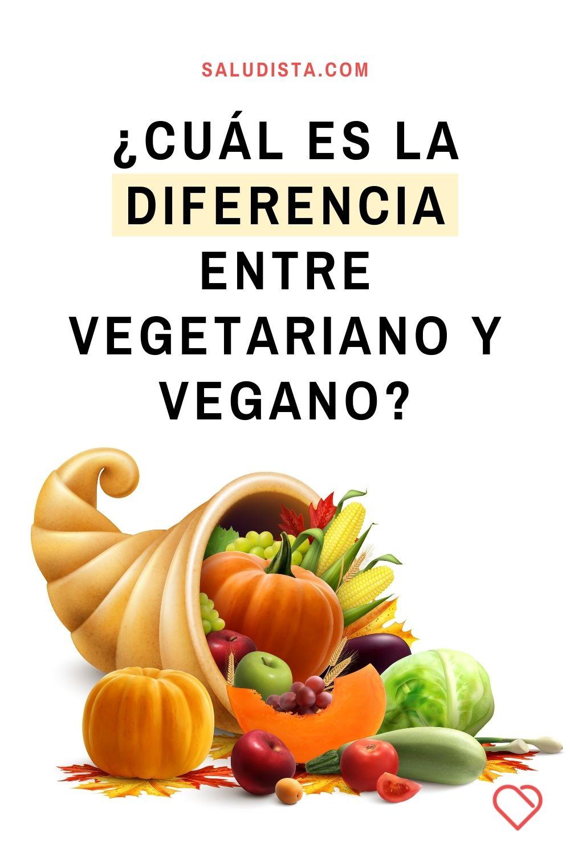 ¿Cuál es la diferencia entre vegetariano y vegano?