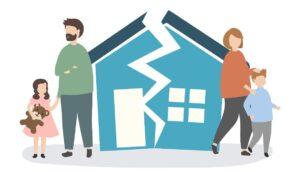 Tener padres divorciados puede afectar su estilo de apego