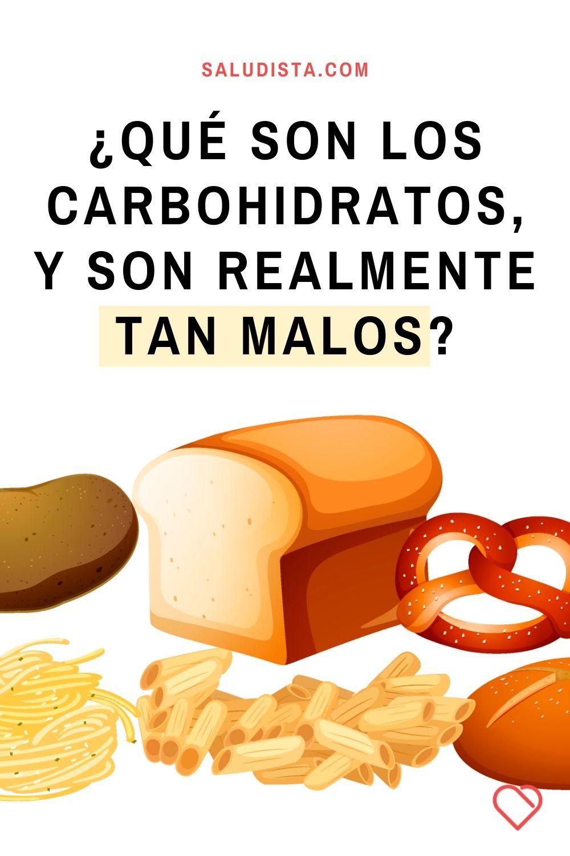 ¿Qué son los carbohidratos, y son realmente tan malos?