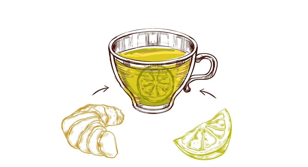 6 Beneficios del té de jengibre con limón