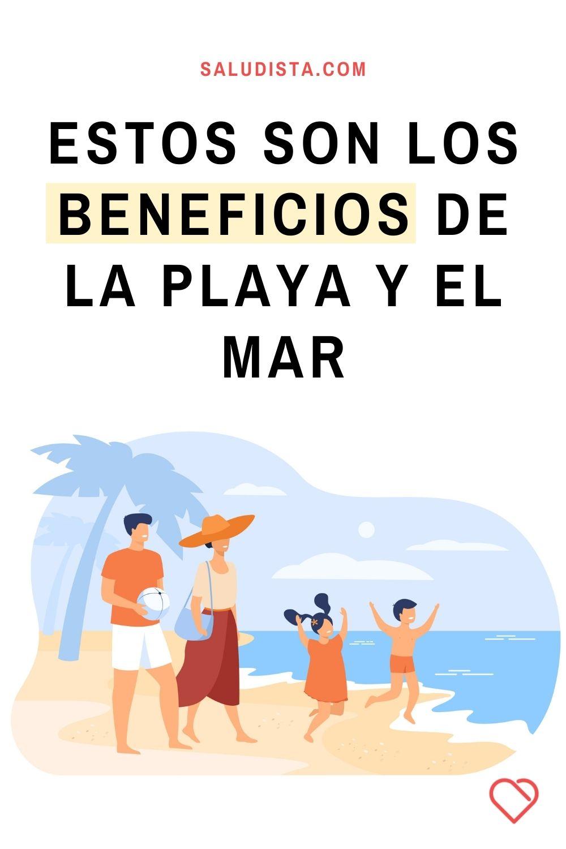 Estos son los beneficios de la playa y el mar