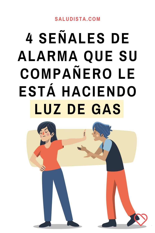4 Señales de alarma que su compañero le está haciendo luz de gas