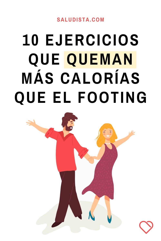 10 ejercicios que queman más calorías que el footing