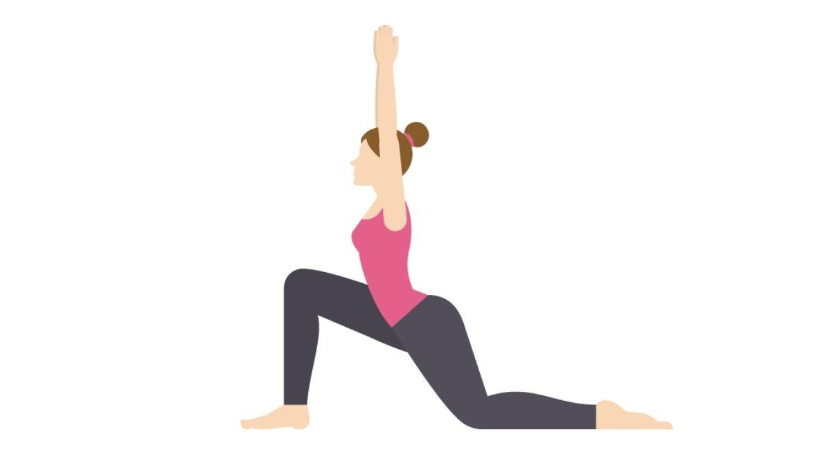 ¿Te sientas mucho? Estírate con este ejercicio de flexor de cadera