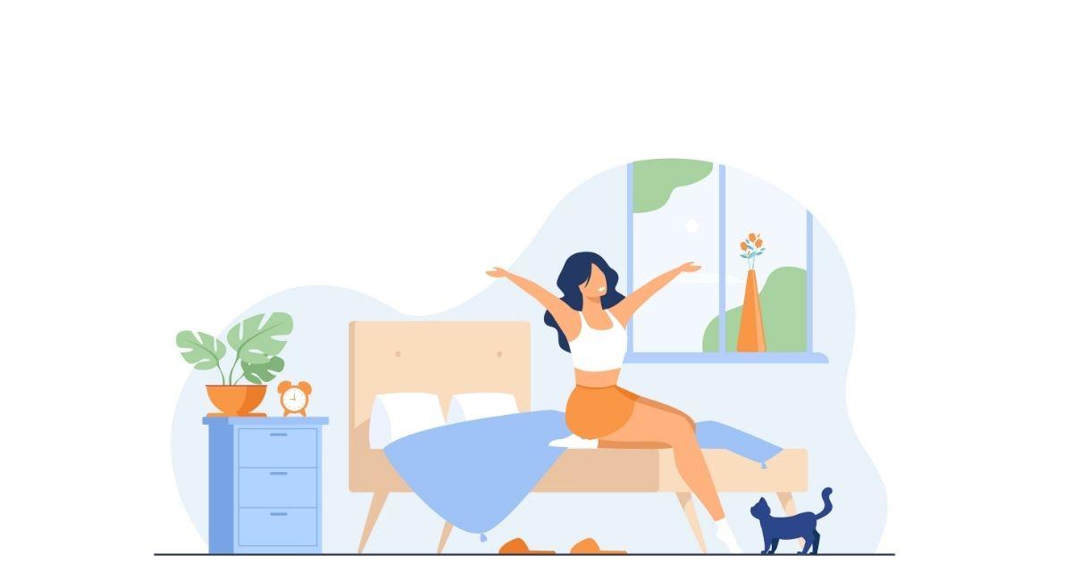 5 maneras de mejorar la calidad del aire en su dormitorio