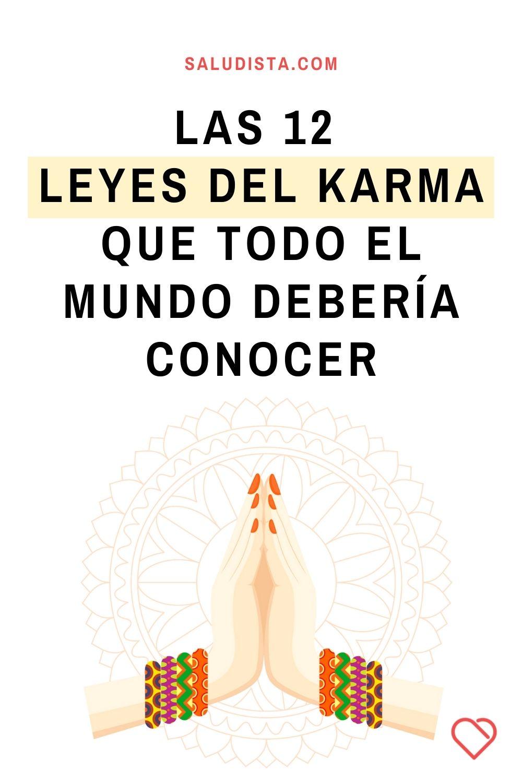 Las 12 leyes del karma que todo el mundo debería conocer