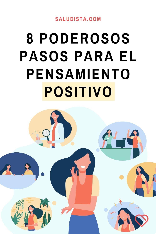 8 poderosos pasos para el pensamiento positivo