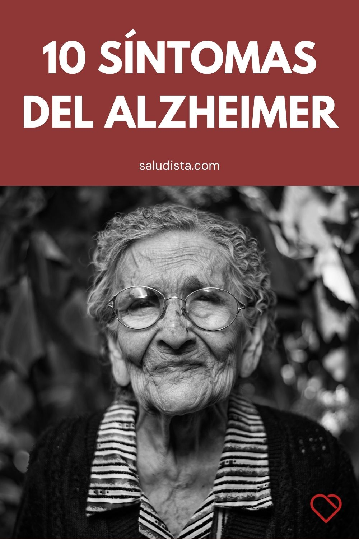 10 Síntomas del Alzheimer