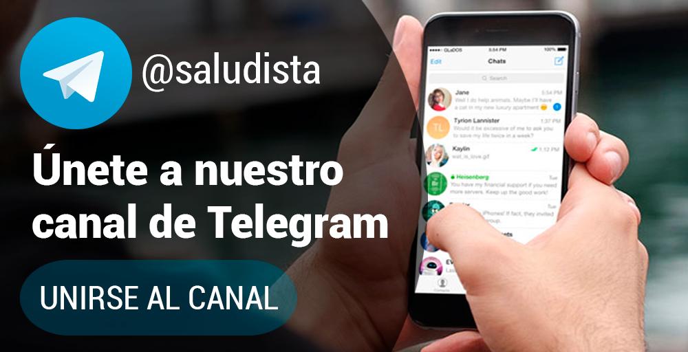 Saludista en Telegram