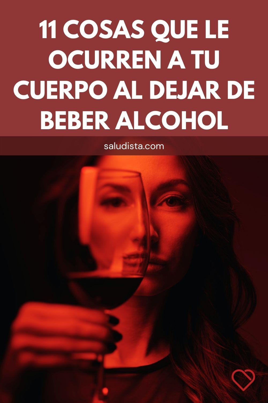 11 Cosas que le ocurren a tu cuerpo al dejar de beber alcohol