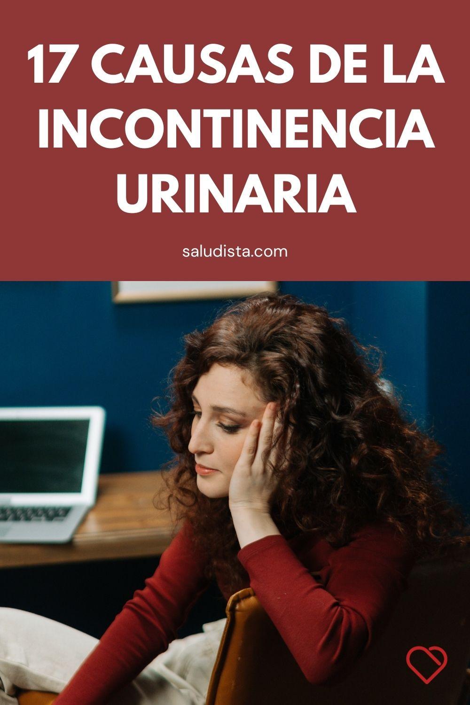17 causas de la incontinencia urinaria