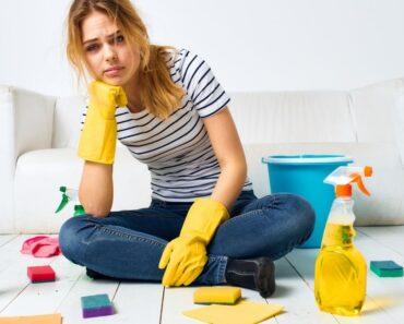 Con qué frecuencia debes limpiar las cosas de tu casa