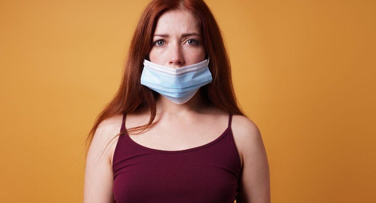 ¿Por qué es importante taparse la nariz con la mascarilla?