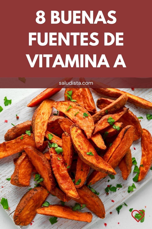 8 Buenas fuentes de vitamina A